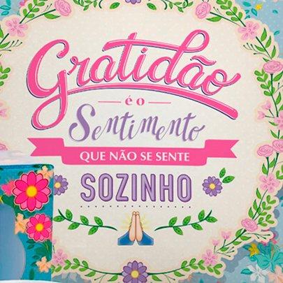 Kit Gratidão Almofada e Caneca