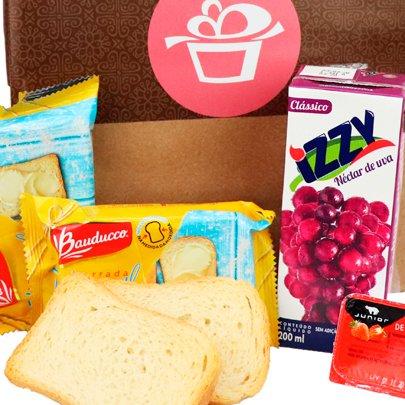 Kit Presente Café Sacola Kraft