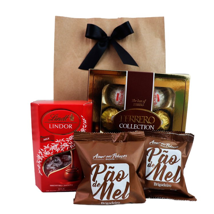 Kit de Chocolates Especiais