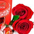 Rosas Colombianas com Lindt