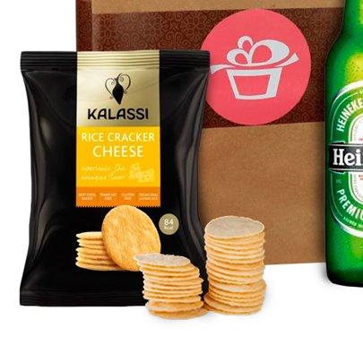 Kit Aperitivo Sacola Kraft