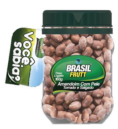 Amendoim Brasil Frutt 160g