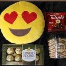 Cesta Apaixonados por Chocolate Box