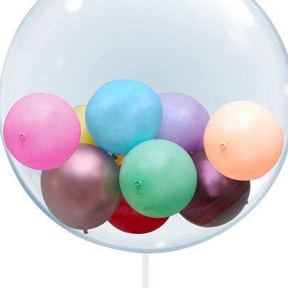 Balão Bolinhas Coloridas