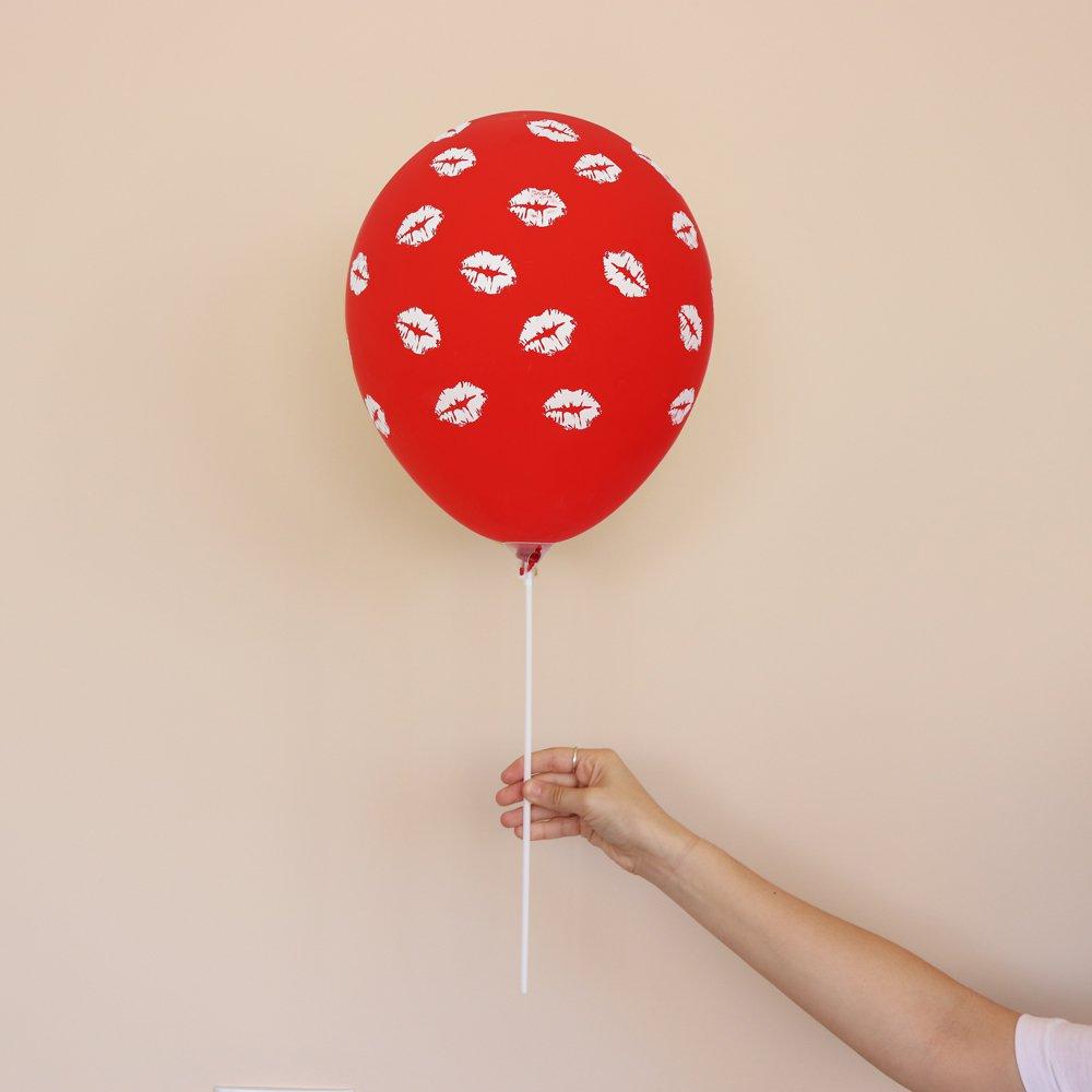 Balão Latex  Fashion Composê Beijos