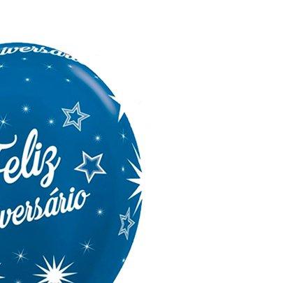 Balão Látex Parabens Azul