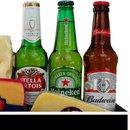 Cesta de Queijos e Cervejas