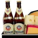 Cesta de Queijos e Cervejas Erdinger