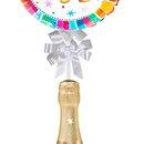 Balão Happy Birthday Colorido e Chandon Baby