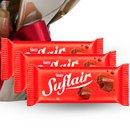 Lindo Kalanchoe Vermelho Plantado e Chocolate Suflair
