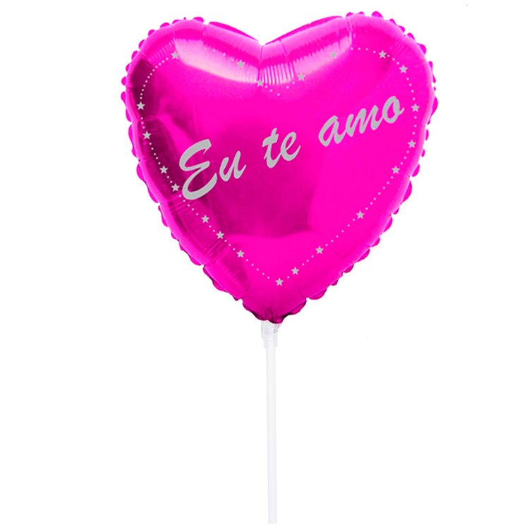 Balão Eu Te Amo Pink