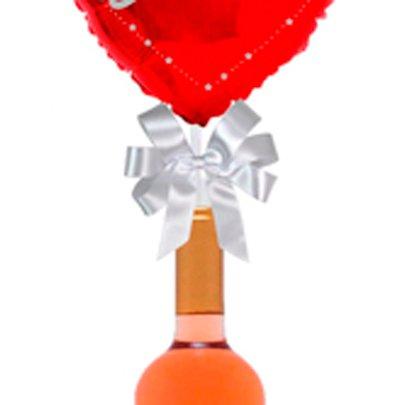 Balão Eu Te Amo Vermelho e Vinho Menrisa