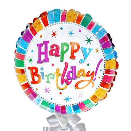 Balão Happy Birthday e Espumante Freixenet Carta Nevada