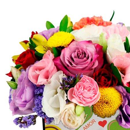 Mix de Flores no Box Amor