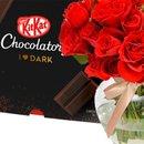 Brisa de Rosas Red e Kit Kat I Love Dark
