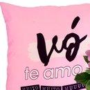 Kit Te Amo Vó e Violeta Cor de Rosa Uatt