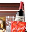Baú de Vinho e Chocolates