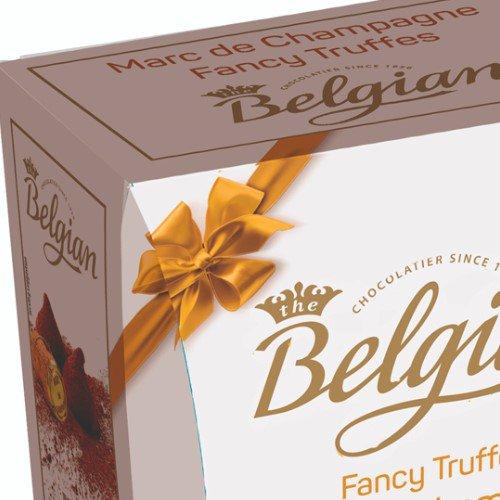 Caixa de Trufas Champanhe Belgian 200g