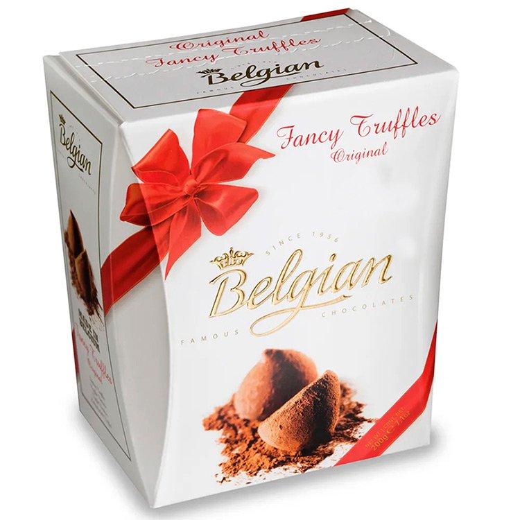 Trufas de Chocolate Importados Belgian