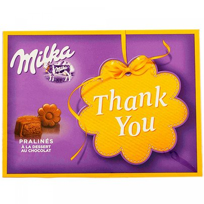 Milka Thank You