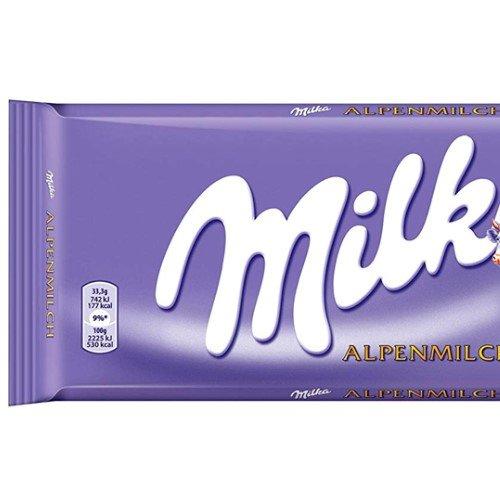 Chocolate Milka 250g Alpenmilch