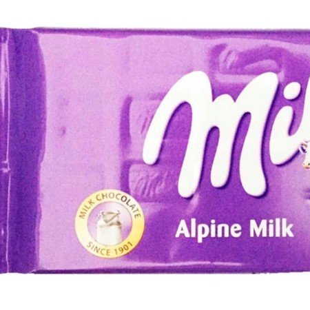 Barra de Chocolate Milka Alpine Milk