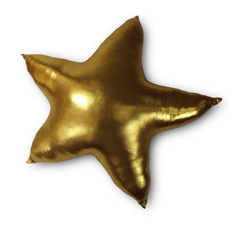 Almofada Estrela Dourada