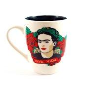 Caneca Frida Kahlo Face Viva a Vida
