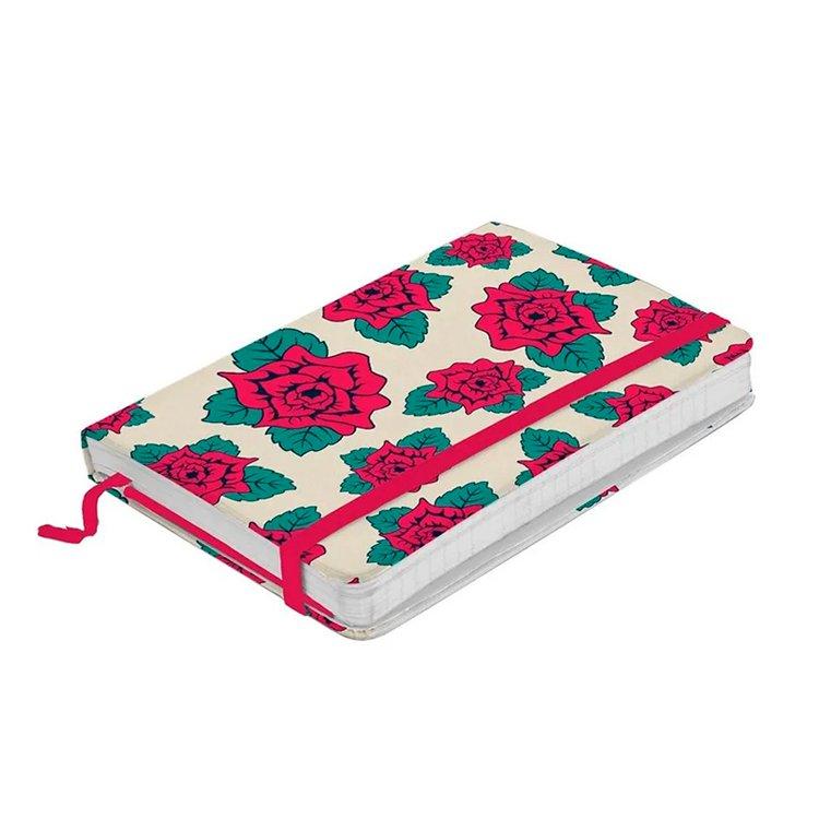 Caderno de Anotações Branco Flores Frida Kahlo