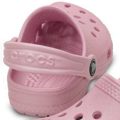 Crocs Infantil Littles Rosa Tamanho 20/21