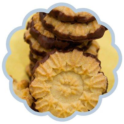 Biscoito Limão Siciliano com Chocolate
