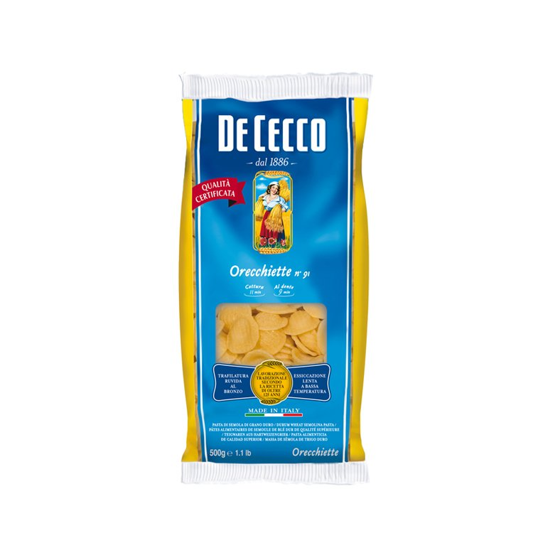 Macarrão Orecchiette De Cecco 500g