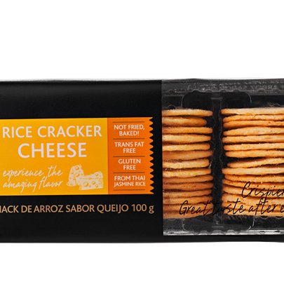 Snack Kalassi Rice Cracker Cheese