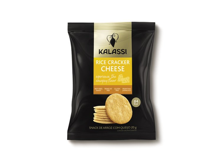 Kalassi Rice Cracker Cheese 20g