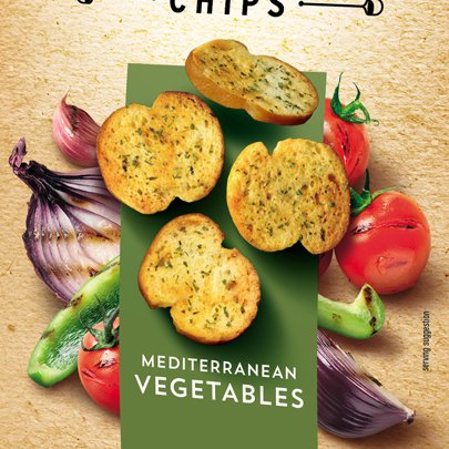 Bruschetta Mediterranean Vegetables
