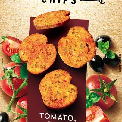 Bruschetta Tomato Olives & Oregano