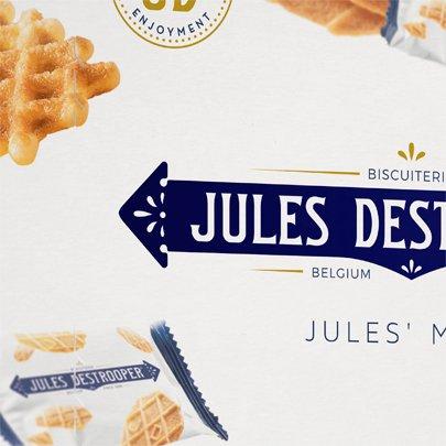 Biscoito de Manteiga Jules Destrooper
