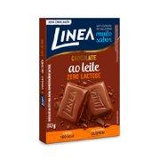 Barra de Chocolate Ao Leite Zero Lactose Línea 30g
