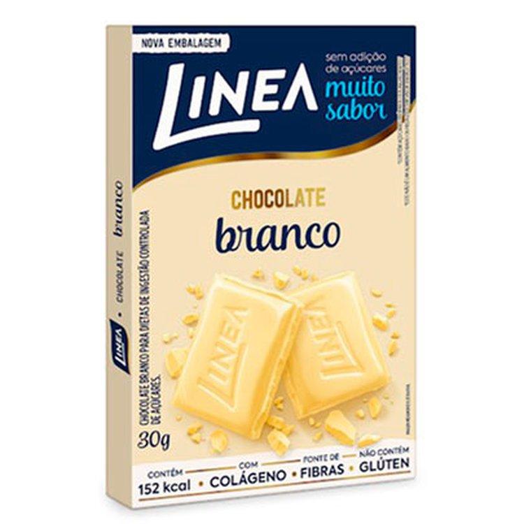 Barra de Chocolate Branco Línea 30g