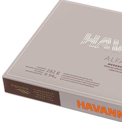 Caixa de Alfajores Havanna Merengue Clássico