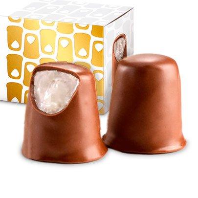Caixa Corações de Chocolates Recheados Havanna 117g