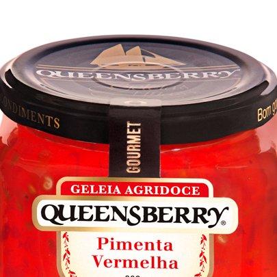 Geleia de Pimenta Vermelha Gourmet Queensberry 320g