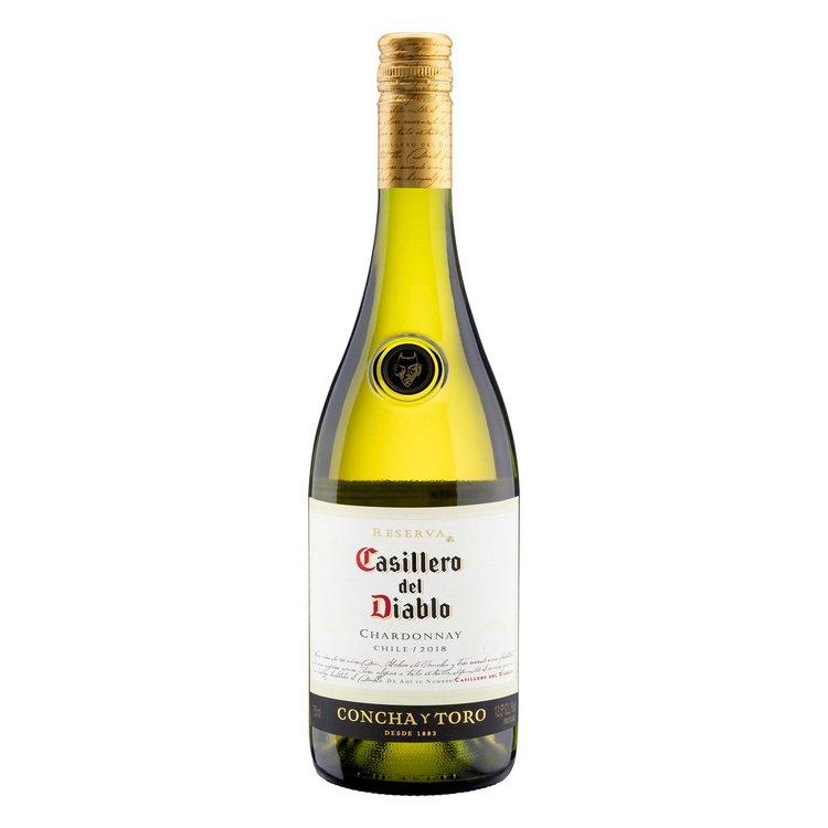 Vinho Branco Chardonnay Casillero Del Diablo 750