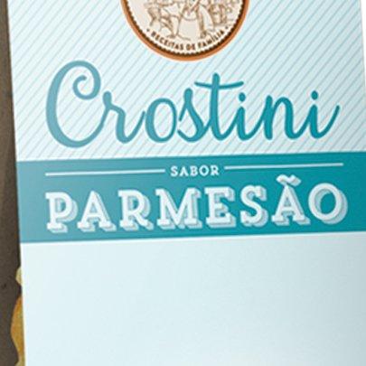 Crostini Parmesão Casa Bauducco 100g