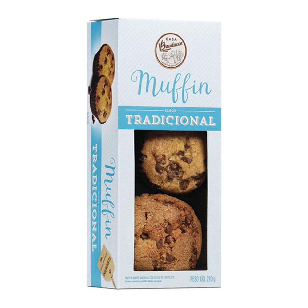 Muffin de Baunilha Casa Bauducco 210g