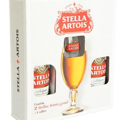 Kit Cerveja Stella Artois