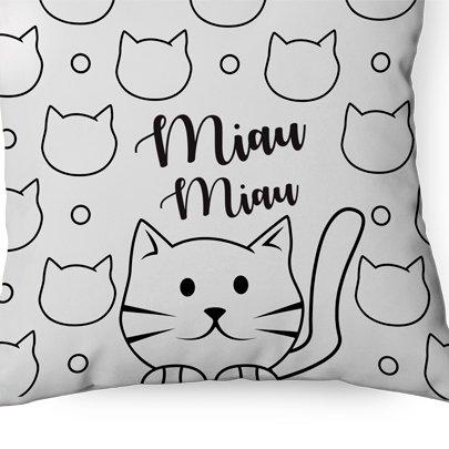 Almofada Miau Miau Sude