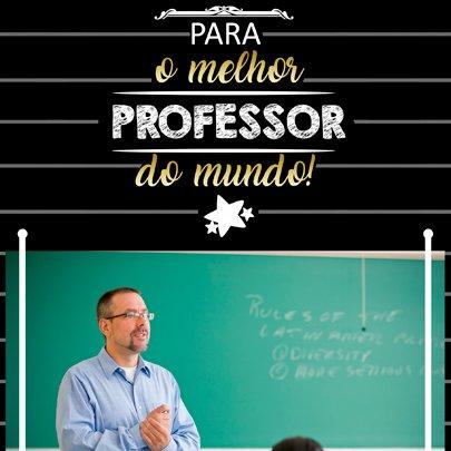 Porta Retrato Professor Sude