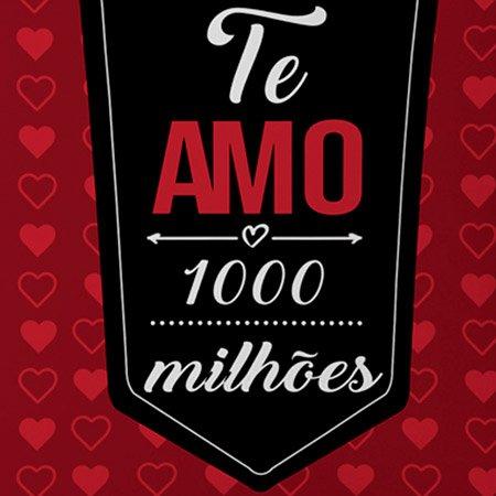 Almofada Te Amo Mil Milhões