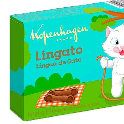 Língua de Gato Lingato Kopenhagen 85g